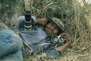 Patrick Chauvel in Cambodia, 1973