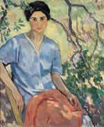 """Ravenlocks,"" ca. 1917, by Anne Bremer"