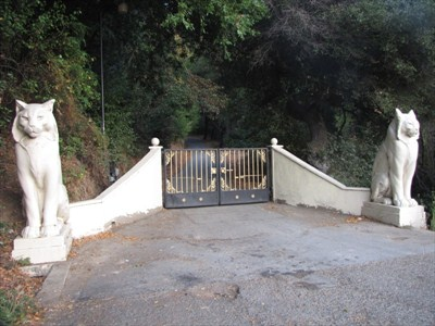 Los Gatos gate