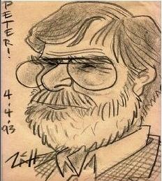 Mellini caricature
