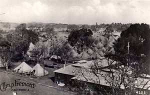 Camp Fremont, from postcard